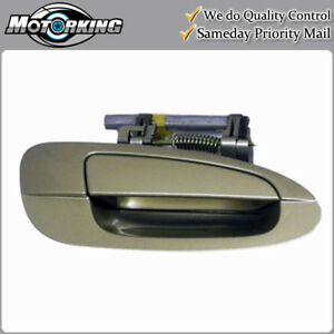 Exterior Door Handle Rear Right for 02-06 Nissan Altima EY1 Champagne Gold B3772