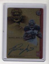 2018 Panini Elements Metal Gold Card #83 Ronald Jones II Autograph #'d 18/50