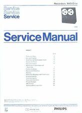 Philips Service Manual für N 4512  in deutsch Copy