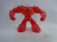 Gormiti Giochi Preziosi PVC Action Figure Translucent Red / Orange # 4
