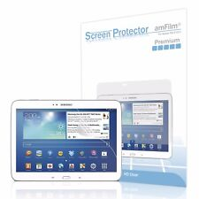 Samsung Galaxy Tab 3 10.1 Tablet P5210 amFilm HD Clear Screen Protector (2 Pack)