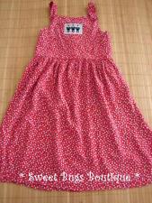 Girls CHOCOLATE SOUP Red Stars Patriotic Dress Sz 6