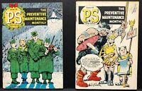 P.S. PREVENTIVE MAINTENANCE Will Eisner U.S.A. Comic Book GGA 39 VG 42 70 72 VF