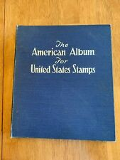 Scott American Album 1947 edition United States Nice Condition with Stamps!  |