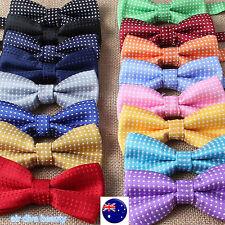 AU Boys Kid Children Party School Pre-tied Wedding dance bow tie Necktie bowtie