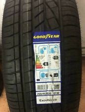 1X NEW GOODYEAR EXCELLENCE 255/45 ZR20 101W AO A1 SUV 4X4 CAR TYRES 255 45 20 B+