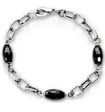 ZOPPINI steel cubic zirconia bracelet bracciale donna acciaio H1091_210B BNIB