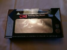 "CHI nothing else metals 1"" ceramic styling flat iron with bonus thermal clutch."