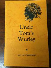 UNCLE TOM'S WURLEY REV J C SCARBOROUGH Aboriginal Indigenous 1966 Author's Stamp