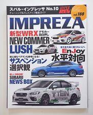 Hyper REV Magazine IMPREZA WRX No.10  Vol.188