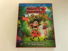 Cloudy With A Chance Of Meatballs 2 3D w/Slipcover Blu-ray