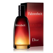Fahrenheit By Christian Dior 3.4oz/100ml Men's Eau De Toilette (NIB)