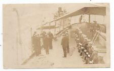 1920s Photo Marine Guard Captain Lincoln Ship Huron