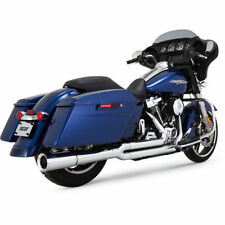 Vance & Hines Chrome Pro Pipe Exhaust for 2017-2018 Harley Touring Models