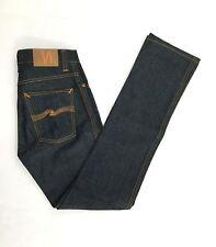 Nudie Slim Jim Organic Dry Broken Twill Mens Jeans NJ3828. Sz 28x34 Fits 28x34