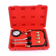 Petrol Engine Cylinder Pressure Tester Car Van Compression Gauge Test Tool Kit