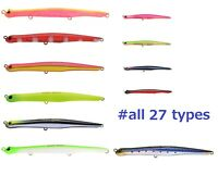 JACKSON TOP WATER lure Sinking Pencil Bait NYORO NYORO 125mm Sea Bass 27 types