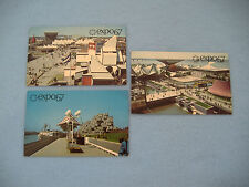 INTERNATIONAL AND UNIVERAL EXPOSITION-CANADA WORLDS FAIR-EXPO 67 POSTCARDS-3