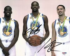 Kevin Durant/ Klay Thompson signed 8x10 photo PSA/DNA Golden State Warriors Auto