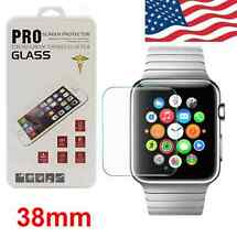 New For Apple Watch Real Premium Slim Tempered Glass Film Screen Protector 38mm