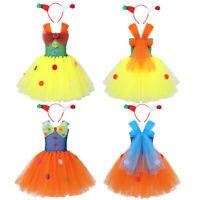 Girls Halloween Costume Outfits Carnival Christmas Cosplay Party Fancy Dress Up