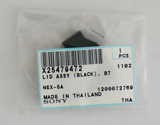 Genuine Sony parts X25479472 Lid Assy Battery Door Cover (Black) for Nex-5