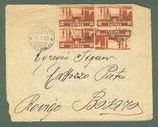 Storia postale Colonie. ERITREA. Lettera del 1.7.1936 da DECAMERE'...