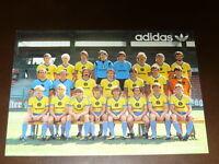 adidas: Eintracht Braunschweig Saison 82/83 Postkarte