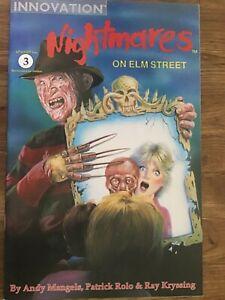 Innovation Comics Nightmares on Elm Street December 1991 Number 3 Freddy