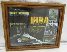 2001 Signed IHRA World Champion Top Fuel Dragster Driver Clay Millican Slick