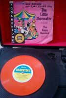 "Roy Rogers And Dale Evans ‎– The Little Shoemaker Vinyl 7"" 78RPM Orange Gala"