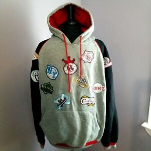 Negro League Baseball Players Association (NLBPA) Pullover Hoodie, Size: Large
