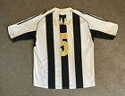 Newcastle United 2005-07 Home Shirt, Large, EMRE 5, Excellent Condition