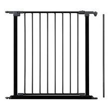 NEW BABYDAN BLACK CONFIGURE BABY SAFETY GATE 72CM DOOR SECTION EXTENSION