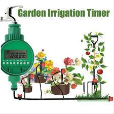 Home Water Timer Garden Irrigation Timer Controller Set Water Programs Hot QD