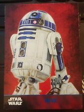 2015 Topps Star Wars The Force Awakens #43 R2-D2 BLUE