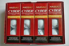 Cyber Nassau(2-piece) Golf Balls 1 Dozen(4 Sleeves=12 balls) Tournament Ball