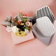 12 Pc Envelope Fold Flower Box Paper Floral Wrapping Party Wedding Gift Boxes;er