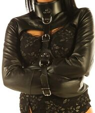 Women Bolero StraitJacket Leather Gear Women Straight Jacket