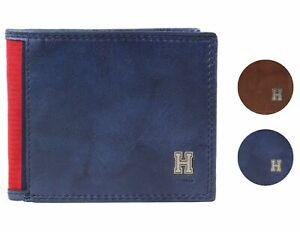 Tommy Hilfiger Men's Leather Credit Card Id Traveler Rfid Wallet 31TL240004