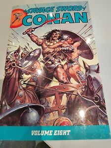 The Savage Sword of Conan Volume 8 Black Horse Books.555 pages