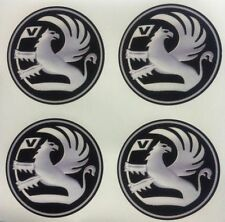 4x 45 mm fits VAUXHALL wheel STICKERS center badge centre trim cap hub alloy sil