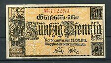 Nordhausen 50 Pfennig Verkehrsausgabe vom 1.5.1917