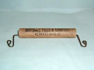 Vintage Marshall Field & Company Chicago Portable Shopping Bag Handle