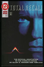 Total Recall Movie Special Comic #1 Arnold Schwarzenegger 1990 Movie Adaptation