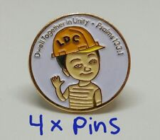 JW.org pin for Jehovah's witnesses ldc construction brothers JW gift, 4 pins lot