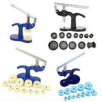 13PCS Watch Back Case Press Opener Crystal Glass Closer Fitting Repair Tool Set