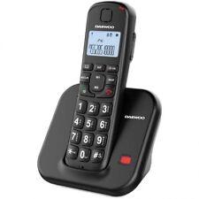 Telefono inalambrico fijo DAEWOO DTD-7200B +80Db AUDIFONO teclas grandes mayores