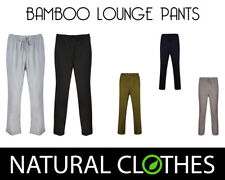 Mens Pyjamas Lounge Wear Pants Bottoms Bamboo Breathable Natural Clothes