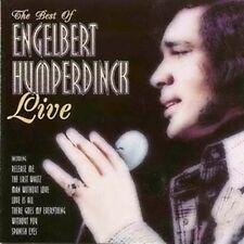 "Engelbert Humperdinck:  ""The Best Of - Live""  (CD Reissue)"
